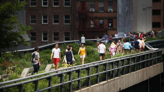 The High Line (Credit: Spencer Platt/Getty)
