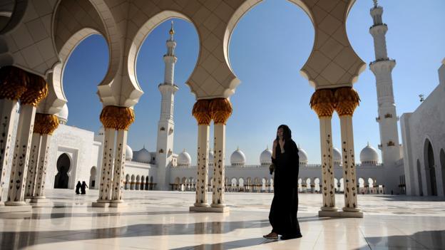 The Sheikh Zayed Mosque (Credit: Jasper Juinen/Getty)