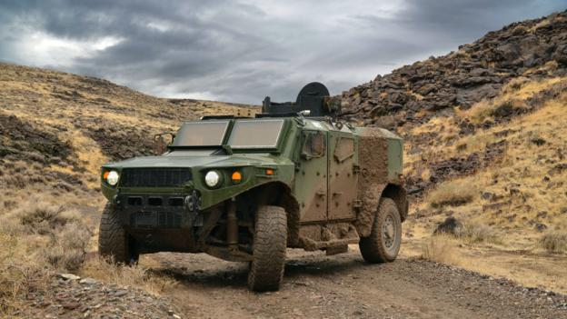 TARDEC Ultra Light Vehicle prototype (Credit: US Army)