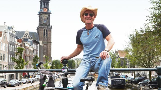 Amsterdam on wheels (Credit: Mark Read)