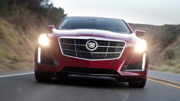 2014 Cadillac CTS (Credit: General Motors)