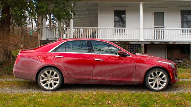 2014 Cadillac CTS (Credit: Jonathan Schultz)