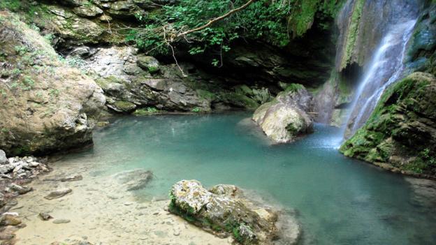 The Fonissa waterfall (Credit: Nikos Roussos)