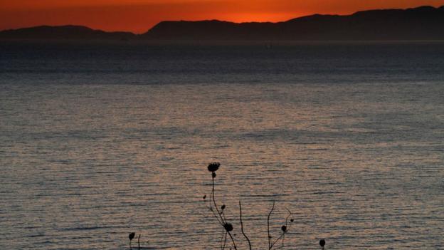 Sunset at Logothetianika (Credit: Dennis Beentjes)