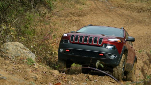 2014 Jeep Cherokee (Credit: Dan Carney)