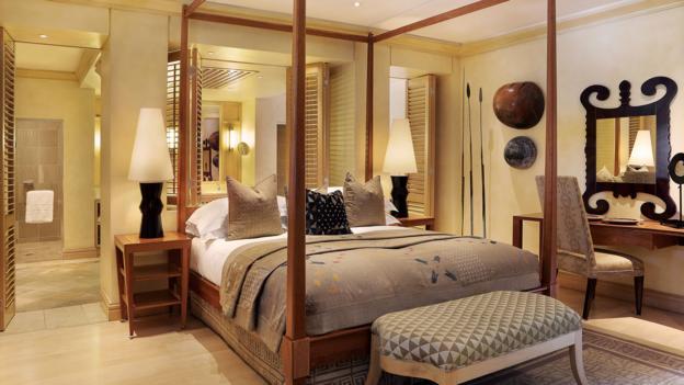 The Mandela Suite at the Saxon Hotel (Credit: The Saxon Hotel)