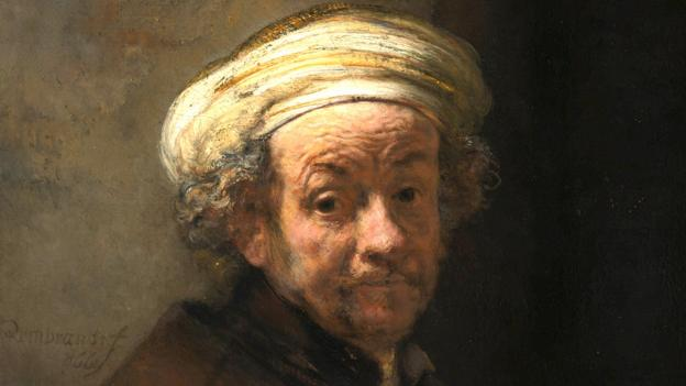 Rembrandt, Self-portrait as the Apostle Paul (Corbis)