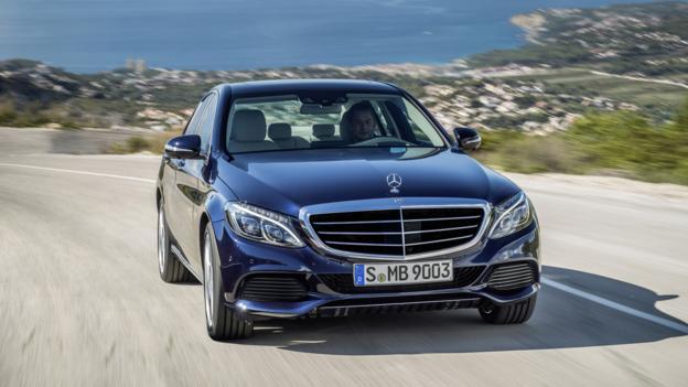 2015 Mercedes-Benz C-Class (Credit: Daimler)