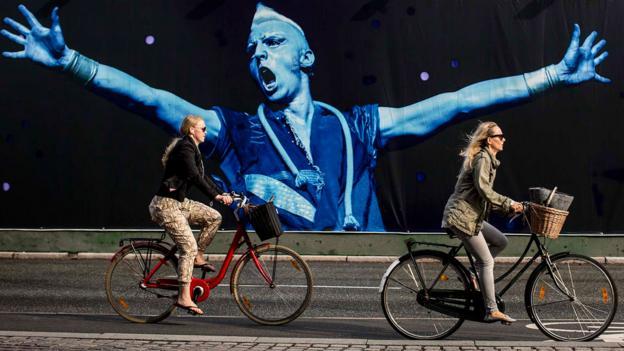 Cycling in Copenhagen (Credit: Dean Treml/Red Bull via Getty)