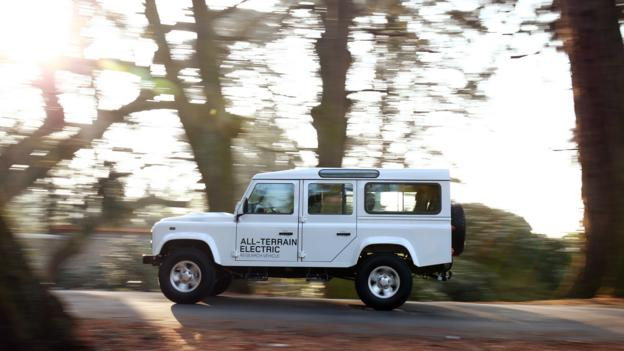 Land Rover Defender Electric (Credit: Land Rover)