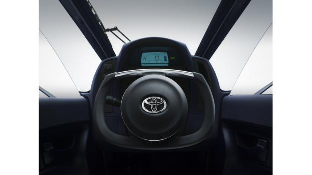 Toyota i-ROAD (Credit: Toyota)