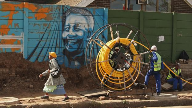 The renovation of the Nelson Mandela Museum in Mthatha (Credit: Getty Images)