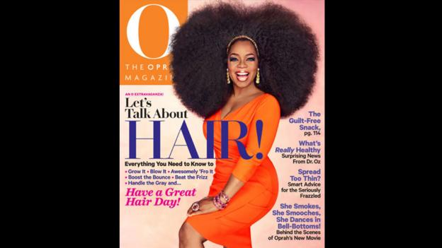 Hair-raising (Credit: O, The Oprah Magazine)