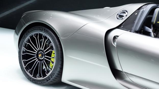 Porsche 918 Spyder (Credit: Newspress)