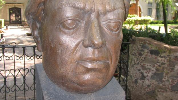 Bust of Rivera, Museo Dolores Olmeda Patiño (Credit: Kate Armstrong)