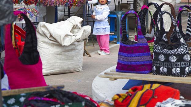 Otavalo market (Credit: Andrew Bain)