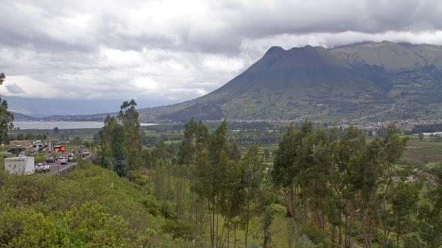 Imbabura volcano (Credit: Andrew Bain)