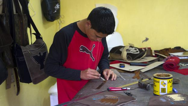 Cotacachi leathermaker (Credit: Andrew Bain)