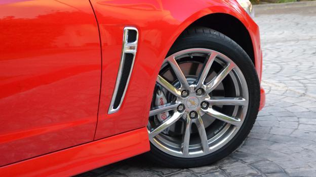 2014 Chevrolet SS (Credit: Dan Carney)