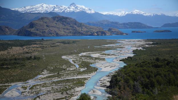 Snow- and glacier-fed rivers feed Lago General Carrera (Credit: Gabi Mocatta)