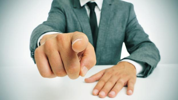 Work Ethic suggests a manager stop pointing fingers and accept some blame. (Thinkstock)