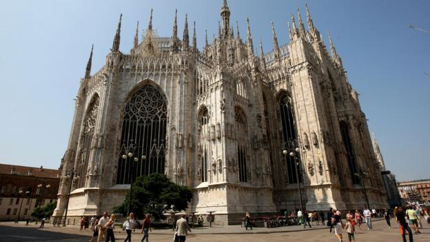 The back of the Duomo (Credit: Vittorio Zunino Celotto/Getty)