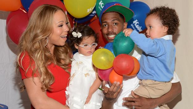 Recording artist Mariah Carey, Nick Cannon and their children (Amanda Edwards/Getty)