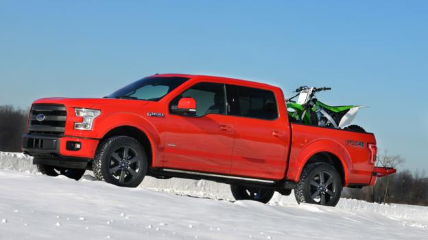 2015 Ford F-150 (Credit: Ford Motor)