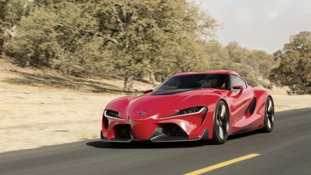 Toyota FT-1 Concept (Credit: Toyota)