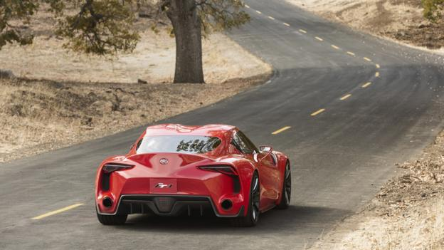 ft 1 Concept Toyota's Scarlet