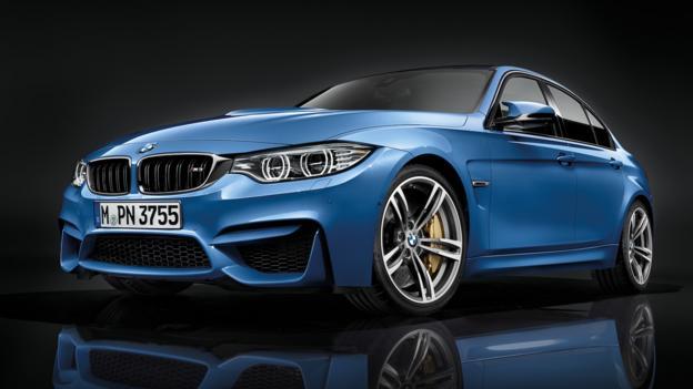 2015 BMW M3 sedan (Credit: BMW of North America)