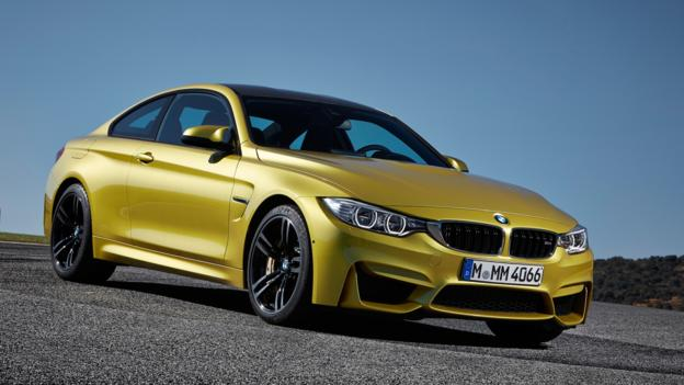 2015 BMW M4 coupe (Credit: BMW of North America)