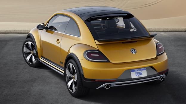 Volkswagen Beetle Dune concept (Credit: Volkswagen of America)