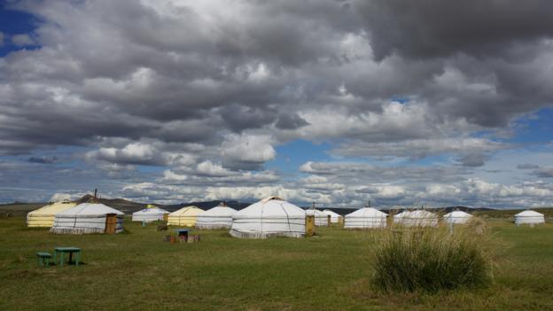 Ger camp (Credit: Tatyana Leonov)