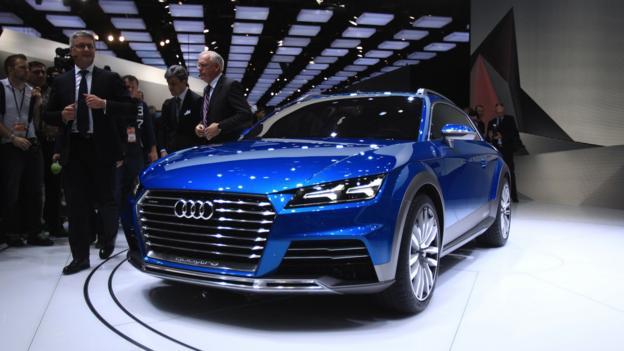 Audi Allroad Shooting Brake concept (Credit: Bill Pugliano/Getty Images)