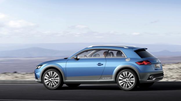 Audi Allroad Shooting Brake concept (Credit: Audi of America)