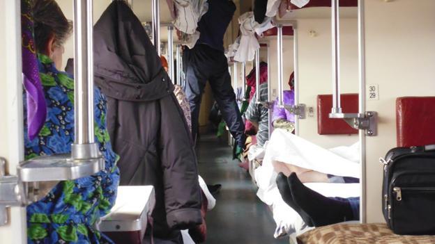 The Ptazkartny carriage (Credit: Anna Kaminski)