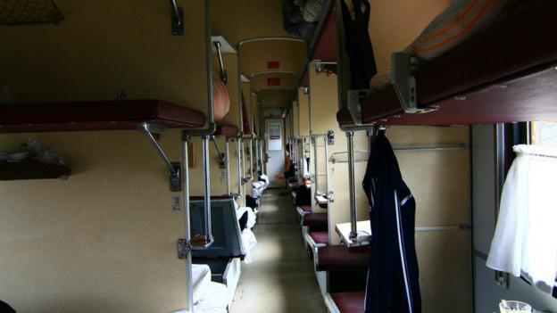 The Platzkart carriage (Credit: Anna Kaminski)