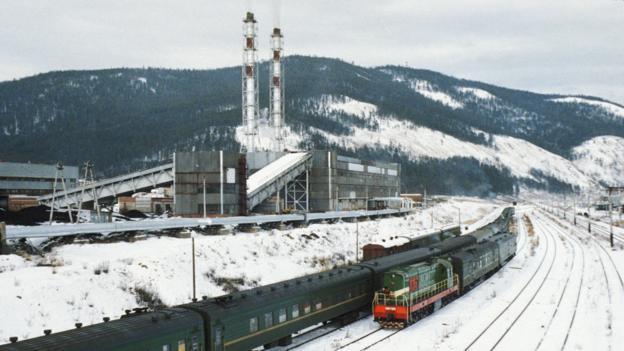 The Severobaikalsk train station (Credit: UIG/Getty Images)