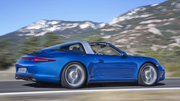 2014 Porsche 911 Targa (Credit: Porsche)