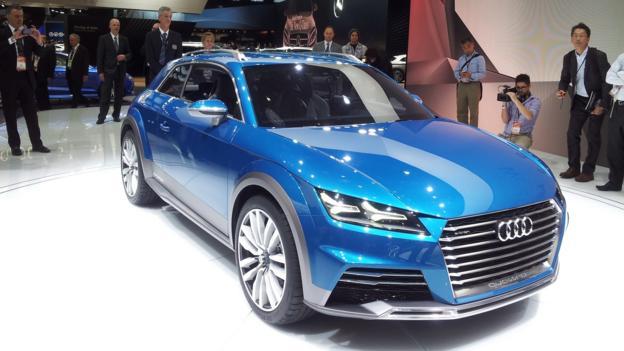 Audi Allroad Shooting Brake concept (Credit: Jonathan Schultz)