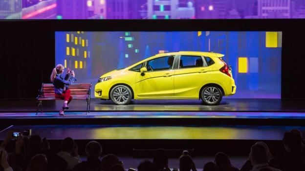 2015 Honda Fit (Credit: American Honda Motor)