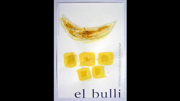 El Bulli Banana (Credit: Courtesy of elBullifoundation)