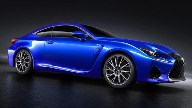 2015 Lexus RC F (Credit: Toyota Motor Sales)