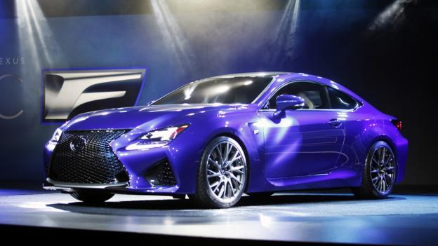 2015 Lexus RC F (Credit: Bill Pugliano/Getty Images)