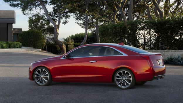 2015 Cadillac ATS coupe (Credit: General Motors)