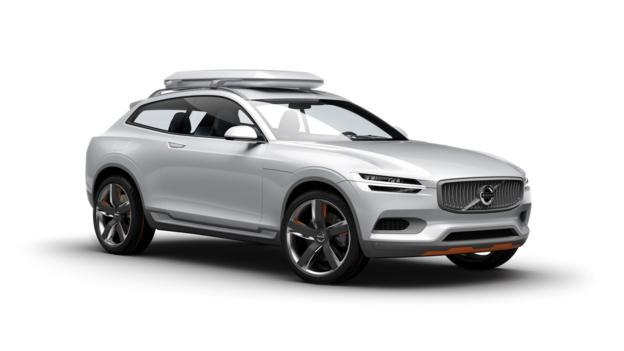 Volvo XC Coupe concept (Credit: Volvo Cars)