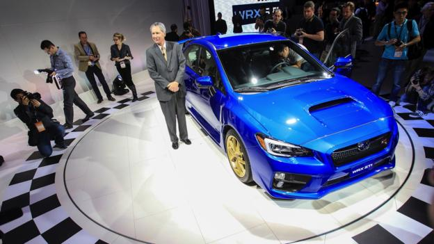 2015 Subaru WRX STi (Credit: Geoff Robins/AFP/Getty Images)