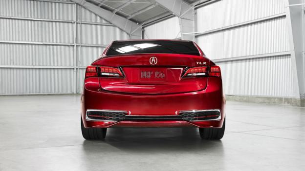 Acura TLX Prototype (Credit: American Honda Motor)