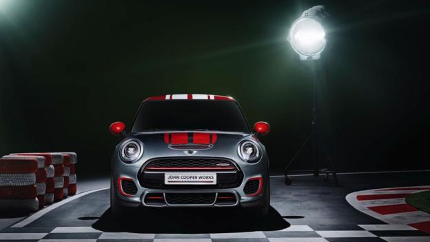 Mini John Cooper Works Concept (Credit: Mini USA)